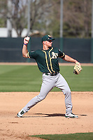 Matt Chapman - Oakland Athletics 2016 spring training (Bill Mitchell)