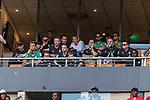 05.01.2019, FNB Stadion/Soccer City, Nasrec, Johannesburg, RSA, TL Werder Bremen Johannesburg Tag 03<br /> <br /> im Bild / picture shows <br /> Eine Werder-Delegation besucht das Heimspiel / Ligaspiel der Kaizer Chiefs vs Mamelodi Sundwons, auf der VIP-Tribüne sind unter anderem die Spieler Claudio Pizarro (Werder Bremen #04), Sebastian Langkamp (Werder Bremen #15), Theodor Gebre Selassie (Werder Bremen #23) und Frank Baumann (Geschäftsführer Fußball Werder Bremen), Klaus Filbry (Vorsitzender der Geschäftsführung / Kaufmännischer Geschäftsführer SV Werder Bremen), Dr. Hubertus Hess-Grunewald (Geschäftsführer Organisation & Sport SV Werder Bremen), Marco Bode (Aufsichtsratsvorsitzender SV Werder Bremen), <br /> <br /> Foto © nordphoto / Ewert