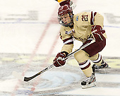 Steven Whitney (BC - 21) - The Boston College Eagles defeated the University of Minnesota Golden Gophers 6-1 in their 2012 Frozen Four semi-final on Thursday, April 5, 2012, at the Tampa Bay Times Forum in Tampa, Florida.