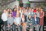 9553-9557.29 PLUS 1: Tralee girl, Emer Hayes, Killeen Hts (seated centre) having a swell time celebrating her 30th birthday last Saturday night in Kirby's Brogue, Tralee with many friends and family..086-2361288