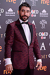 Raul Jimenez attends to the Red Carpet of the Goya Awards 2017 at Madrid Marriott Auditorium Hotel in Madrid, Spain. February 04, 2017. (ALTERPHOTOS/BorjaB.Hojas)