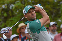 Sergio Garcia (ESP) watches his tee shot on 7 during day 4 of the WGC Dell Match Play, at the Austin Country Club, Austin, Texas, USA. 3/30/2019.<br /> Picture: Golffile | Ken Murray<br /> <br /> <br /> All photo usage must carry mandatory copyright credit (© Golffile | Ken Murray)