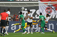 Mats Hummels (Deutschland Germany) schießt über das Tor - 08.06.2018: Deutschland vs. Saudi-Arabien, Freundschaftsspiel, BayArena Leverkusen