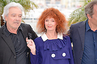 "Piiere Arditi, Sabine Azema and Hippolyte Girardot attending the ""vous n'avez encore rien vu"" Photocall during the 65th annual International Cannes Film Festival in Cannes, France, 21th May 2012...Credit: Timm/face to face / Mediapunchinc"