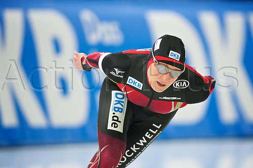 05.03.2016. Berlin Germany. World Championships of Speed skating. 3000 m for women Claudia Pechstein ger