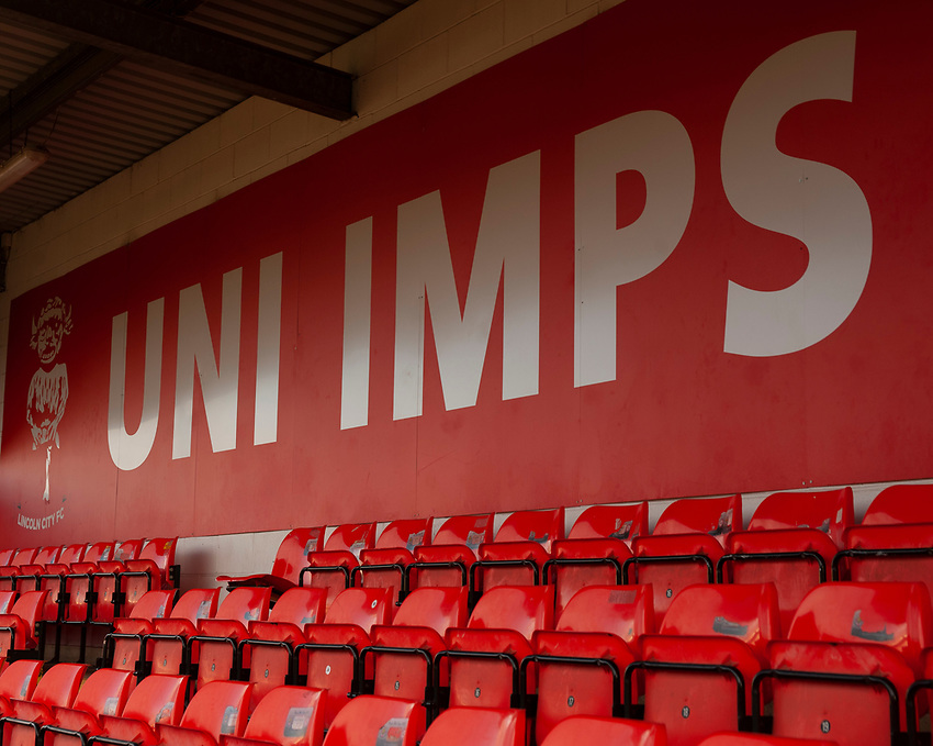 A general view of Sincil Bank, home of Lincoln City FC<br /> <br /> Photographer Andrew Vaughan/CameraSport<br /> <br /> The EFL Sky Bet League Two - Lincoln City v Newport County - Saturday 22nd December 201 - Sincil Bank - Lincoln<br /> <br /> World Copyright © 2018 CameraSport. All rights reserved. 43 Linden Ave. Countesthorpe. Leicester. England. LE8 5PG - Tel: +44 (0) 116 277 4147 - admin@camerasport.com - www.camerasport.com