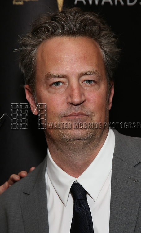 Matthew Perry  attends 32nd Annual Lucille Lortel Awards at NYU Skirball Center on May 7, 2017 in New York City.