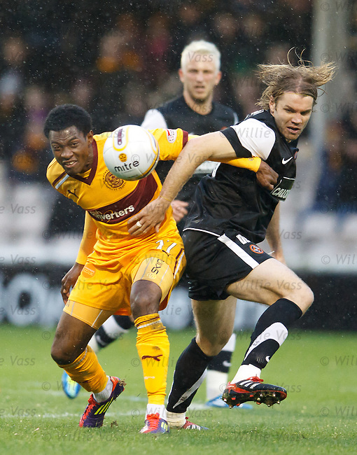Omar Daley and Robbie Neilson