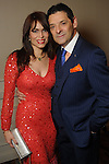 Karina and Carlos Barbieri at the Una Notte in Italia event at the Westin Galleria Hotel Friday Nov. 07, 2014.(Dave Rossman photo)