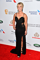 BEVERLY HILLS, CA. October 26, 2018: Lara Clear at the 2018 British Academy Britannia Awards at the Beverly Hilton Hotel.<br /> Picture: Paul Smith/Featureflash