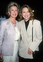 Dina Merrill, Faye Dunaway, 1993, Photo By Michael Ferguson/PHOTOlink