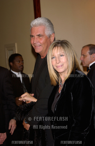 Actress/director/singer BARBRA STREISAND & husband actor JAMES BROLIN at the 54th Annual Directors Guild Awards in Beverly Hills..09MAR2002. © Paul Smith / Featureflash