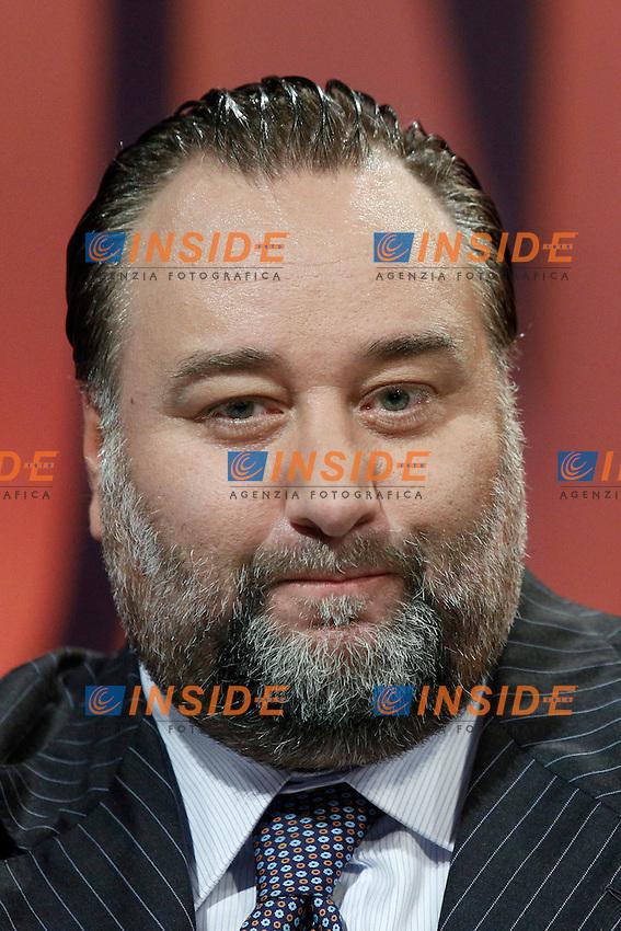 Franco Fiorito.Roma 23/09/2012 LA7 - Franco Fiorito ospite della trasmissione In Onda.Foto Serena Cremaschi Insidefoto