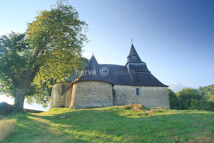 France, Hautes-Pyrénées (65), Saint-Savin, la chapelle de Piétat // France, Hautes-Pyrénées, Saint-Savin, chapel of Piétat