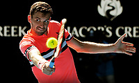 MELBOURNE,AUSTRALIA,23.JAN.18 - TENNIS - ATP World Tour, Grand Slam, Australian Open. Image shows Grigor Dimitrov (BUL). Photo: GEPA pictures/ Matthias Hauer / Copyright : explorer-media