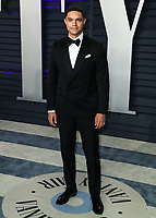 BEVERLY HILLS, CA - FEBRUARY 24: Trevor Noah at the 2019 Vanity Fair Oscar Party at the Wallis Annenberg Center for the Performing Arts on February 24, 2019 in Beverly Hills, California. (Photo by Xavier Collin/PictureGroup)