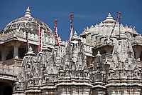 The Ranakpur Jain Temple at Desuri Tehsil in Pali District of Rajasthan, Western India
