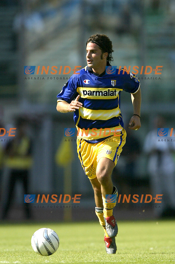 Roma 21/9/2003<br /> Lazio Parma<br /> Manuele Blasi (Parma)<br /> Foto Insidefoto