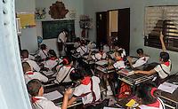 HAVANA, CUBA – 14.09.2016 – EDUCAÇÃO-CUBA – Vista de escola infantil na cidade de Havana em Cuba. Cuba é único latino-americano a atingir metas de educação, segundo a Unesco (Foto: Ricardo Botelho/Brazil Photo Press)
