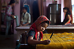 These images were made as part of a personal project on the handloom weavers in Varanasi. In these, I looked at the access to health and infrastructure that weaver's have. I am grateful to the help I received from the People's Vigilance Committee on Human Rights (PVCHR).