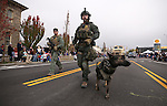 The Carson City Sheriff&rsquo;s SWAT members participate in  the annual Nevada Day parade in Carson City, Nev. on Saturday, Oct. 29, 2016. <br />