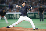 Yoshihisa Hirano (JPN), <br /> MARCH 12, 2017 - WBC : 2017 World Baseball Classic Second Round Pool E Game between <br /> Japan 8-6 Netherlands <br /> at Tokyo Dome in Tokyo, Japan. <br /> (Photo by Sho Tamura/AFLO SPORT)