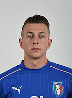 FLORENCE, ITALY - JUNE 01:  Federico Bernardeschi of Italy poses for a photo ahead of the UEFA Euro 2016 at Coverciano on June 1, 2016 in Florence, Italy.  Foto Claudio Villa/FIGC Press Office/Insidefoto