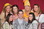 Justin Walsh (who performed with the kind permission of Siamse Tire) surrounded by beautiful ladies during Killarney Musical Society musical 'Carousel' in the INEC Killarney on Tuesday evening front l-r: Shinann Buckley-O'Sullivan, Justin Walsh, Kayleigh Sheerin. Back row: Diane Leen, Caoimhe Bonner, Fiona Crowley and Lorraine Cafferkey   Copyright Kerry's Eye 2008
