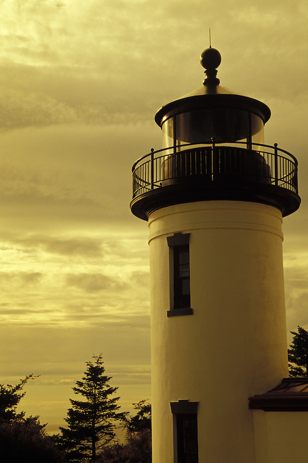 Admiralty Head Lighthouse, Fort Casey State Park, Ebey's Landing National Historic Reserve, Coupeville, Washington