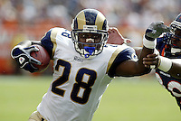 In an NFL game held at Invesco Field where the Denver Broncos beat the St. Louis Rams 23-16<br />