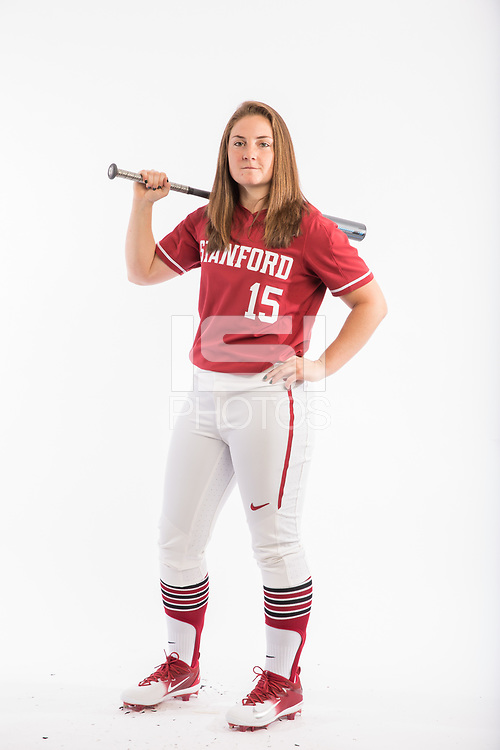 Stanford, CA - February 2, 2018. Stanford Softball Marketing  Images.