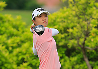 Lydia Ko (NZL) in action on the 3rd during Round 2 of the HSBC Womens Champions 2018 at Sentosa Golf Club on the Friday 2nd March 2018.<br /> Picture:  Thos Caffrey / www.golffile.ie<br /> <br /> All photo usage must carry mandatory copyright credit (&copy; Golffile | Thos Caffrey)