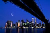 "#JP0580 ""Manhattan & Brooklyn Bridge - New York NY"