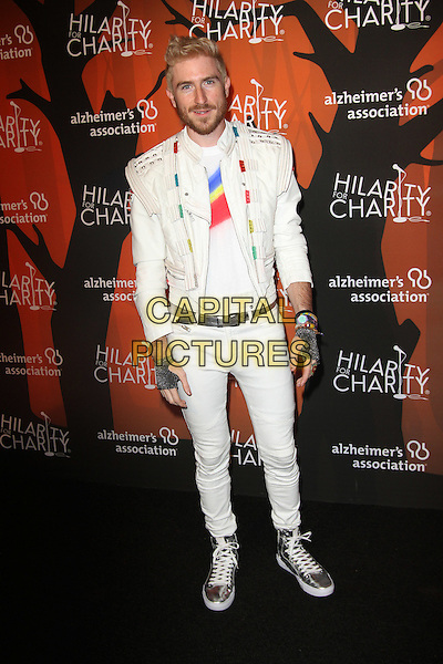 15 October 2016 - Beverly Hills, California - Nicholas Petricca. Fifth Annual Hilarity For Charity Variety Show held at The Hollywood Palladium in Hollywood.    <br /> CAP/ADM<br /> &copy;ADM/Capital Pictures