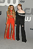 Vanessa Morgan &amp; Madelaine Petsch of Riverdale attends the CW Upfront 2018-2019 at The London Hotel in New York, New York, USA on May 17, 2018.<br /> <br /> photo by Robin Platzer/Twin Images<br />  <br /> phone number 212-935-0770