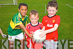 Fionn Diaro, Daragh Murphy, Justin O'Halloran at the St. Pats  Blennerville Family fun Day on Sunday