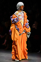 7 September 2017, Melbourne - Model parades design by RMIT student Sammi Guss during the Melbourne Fashion Week in Melbourne, Australia. (Photo Sydney Low / asteriskimages.com)