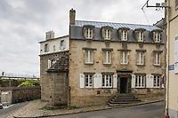 France, Bretagne, (29), Finistère, Brest:  Située en plein cœur du quartier brestois de Recouvrance et surplombant la Penfeld, la Maison de la Fontaine est l'un des vestiges du Vieux Brest.