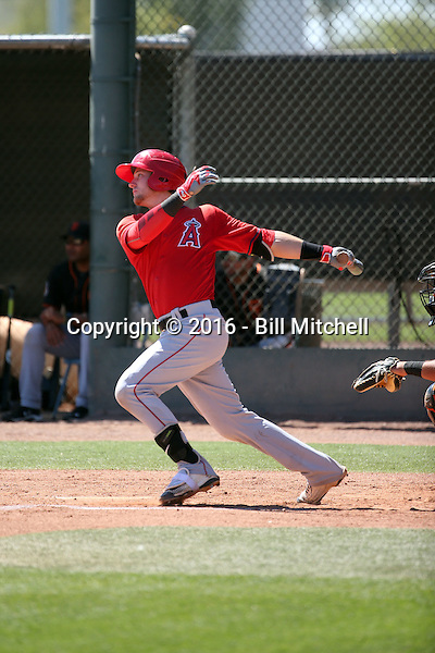 Taylor Ward - Los Angeles Angels 2016 spring training (Bill Mitchell)