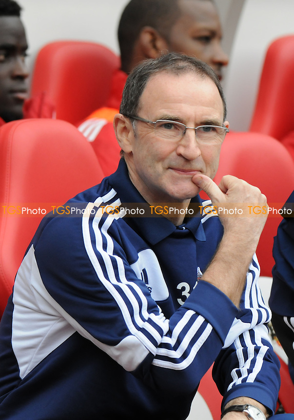 Sunderland manager Martin O'Neill - Sunderland vs Norwich City - Barclays Premier League Football at The Stadium of Light, Sunderland, Tyne & Wear - 17/03/13 - MANDATORY CREDIT: Steven White/TGSPHOTO - Self billing applies where appropriate - 0845 094 6026 - contact@tgsphoto.co.uk - NO UNPAID USE.