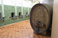 old carved wooden vat aime stentz & fils wettolsheim alsace france