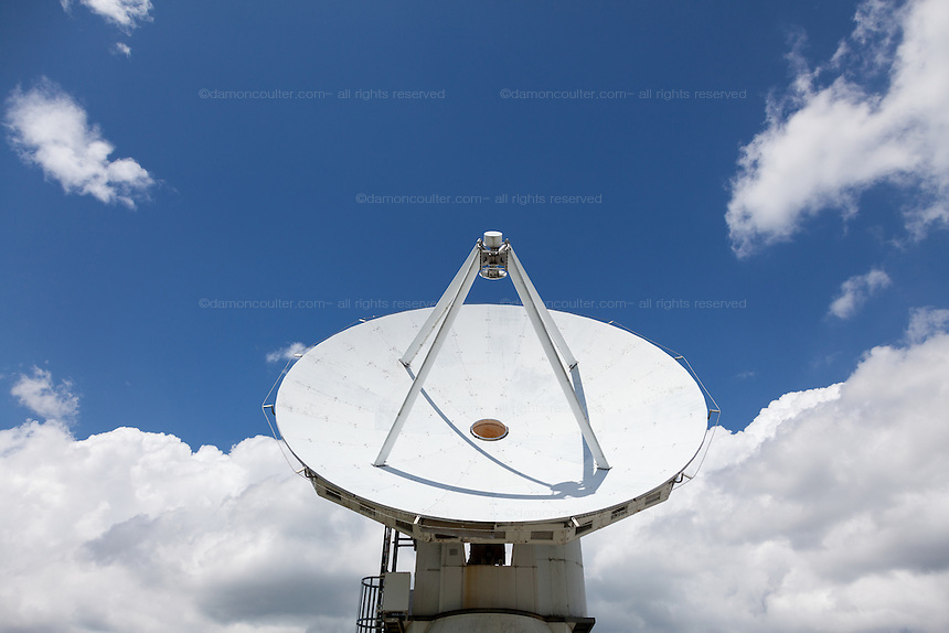 Nobeyama Radio Observatory (NRO) near Minamimaki, Nagano, Japan Wednesday August 17th 2016. The NRO is a project run by the National Astronomical Observatory of Japan (NAOJ), and the institute of the National Institute of Natural Sciences (NINS). The site, operates powerful, advanced radio telescopes, including a 45-m Radio Telescope (one of the world's largest),The Nobeyama Radio Polarimeter, and the 6 antenna Nobeyama millimetre array.