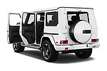 Car images close up view of a 2018 Mercedes Benz G-Class G550 5 Door SUV doors