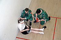 Ambulance paramedics sports injuries