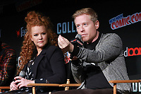 NEW YORK, NY - OCTOBER 7: Mary Wiseman and Anthony Rapp at Star Trek: Discovery at New York Comic Con on October 7, 2017 in New York City. <br /> CAP/MPI/DC<br /> &copy;DC/MPI/Capital Pictures