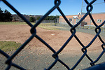 WATERBURY CT. - 18 March 2020-031820SV08-No baseball being played on the baseball field at Watertown High School in Watertown Wednesday.<br /> Steven Valenti Republican-American