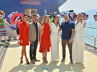 Janina Uhse, Rick Kavanian, Anke Engelke, Raya Abirached, Genndy Tartakovsky &amp; Lesia Nikitiuk at the photocall for &quot;Hotel Transylvania 3: A Monster Vacation&quot; at the 71st Festival de Cannes, Cannes, France 07 May 2018<br /> Picture: Paul Smith/Featureflash/SilverHub 0208 004 5359 sales@silverhubmedia.com