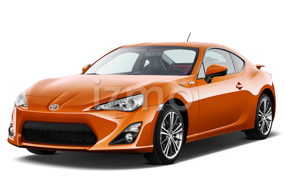 Front three quarter view of a 2013 Toyota GT86 Sport Coupe .