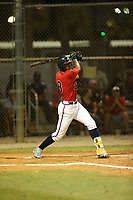 Joe Gray Jr. (8) bats during the WWBA World Championship at the Roger Dean Complex on October 20, 2016 in Jupiter, Florida.  (Greg Wagner/Four Seam Images)