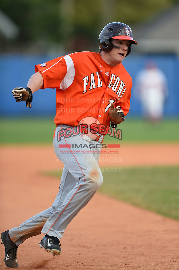 Bowling Green Falcons Matt Smith (10) during a game against the Illinois State Redbirds on March 11, 2015 at Chain of Lakes Stadium in Winter Haven, Florida.  Illinois State defeated Bowling Green 8-7.  (Mike Janes/Four Seam Images)